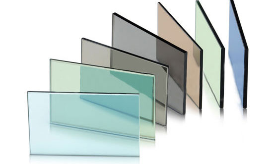 Buy Glass How grey, bronze, green and blue tinted glass manufactured