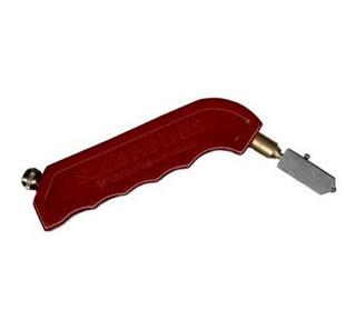 Pistol handle type glass cutter