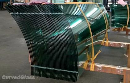 Bent Glass for Exterior and interior decoration