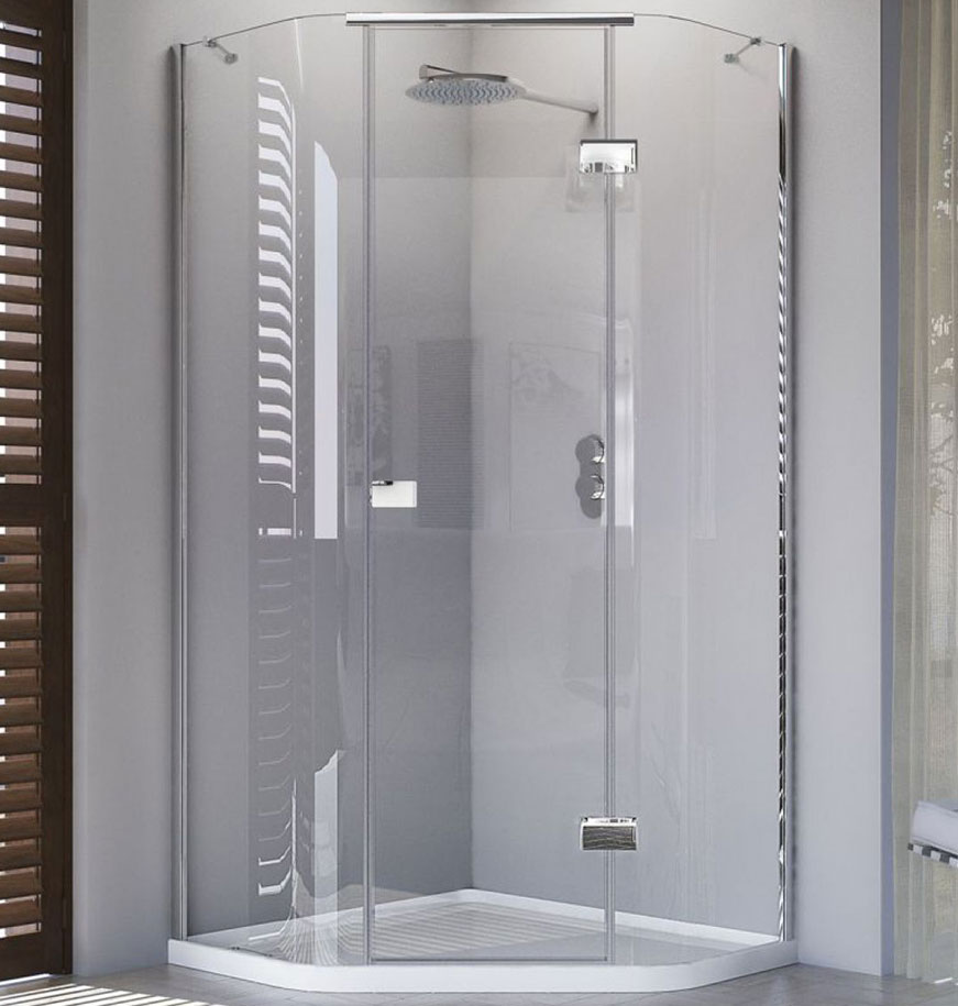 Buy Glass Shower Enclosure Cubicle with Shower Tray