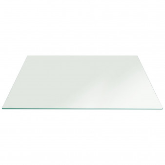 Buy Coffee Table Top Clear Glass - Rectangle 8mm Flat edge (Annealed Glass / Standard glass)