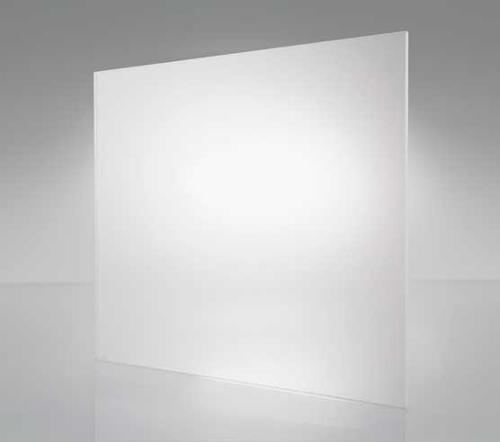 Buy Frosted Glass for dining table top - 10 mm thickness rectangle glass