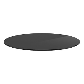 Buy Round Grey tinted Glass 8 mm thickness - 60 Inches Diameter Table top glass